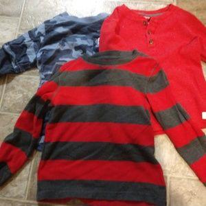 Carter's boys shirts